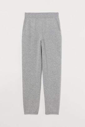 H&M Fine-knit cashmere joggers