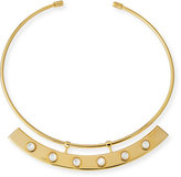 Lizzie Fortunato Polanco Mother-of-Pearl Collar Necklace