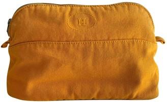 Hermã ̈S HermAs Yellow Cloth Travel bags