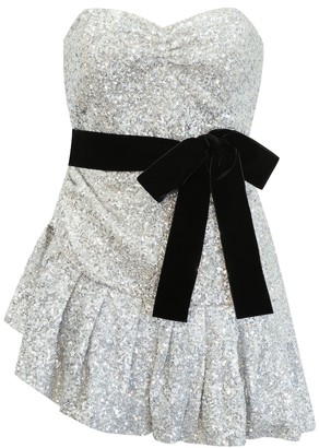 ATTICO Sequined minidress