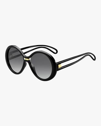 Givenchy Round Cutout Sunglasses