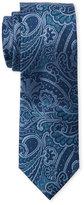 Isaac Mizrahi Paisley Woven Silk Tie