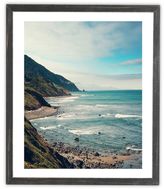 DENY Designs California Pacific Coast Highway by Catherine McDonald (Framed)