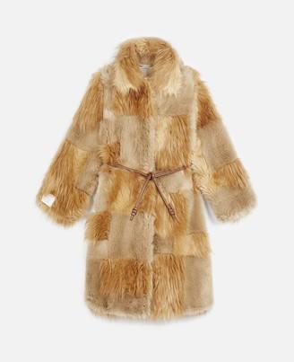 Stella McCartney FUR FREE FUR Adrienne Coat, Women's