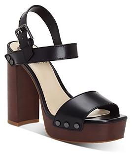 Vince Camuto Women's Lethalia Platform Block-Heel Sandals