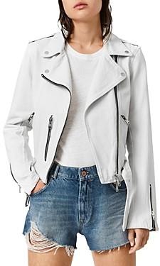AllSaints Balfern Denim Moto Jacket