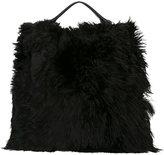 Jil Sander large 'Xiao' shopper bag - women - Leather/Alpaca - One Size