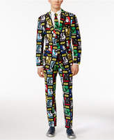 OppoSuits Strong Force Slim-Fit Suit and Tie