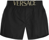 Versace Beachwear Swim Shorts Black
