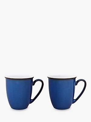 Denby Imperial Blue Mug Set, Set of 2, 350ml