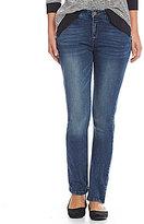 Jones New York Madison Stretch Denim Madison Wash Slim Straight-Leg Jeans