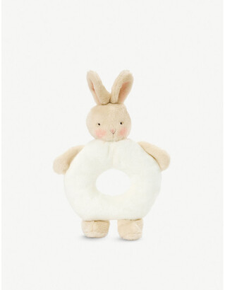 Bunnies by the Bay Bunny plush ring rattle 18cm