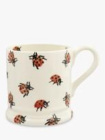 Emma Bridgewater Ladybird Half Pint Mug, 280ml, Red/Multi