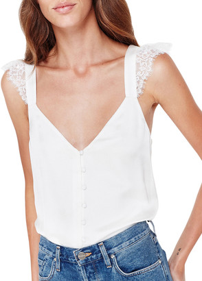 CAMI NYC Victoria Cami with Lace Straps