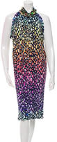 Matthew Williamson Embellished Printed Dress