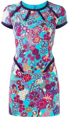 Versace Pre-Owned 2000 floral mini dress