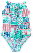 Floatimini Girls 4-6x) Mixed Print One-Piece Swimsuit