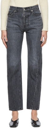 Bureau De Stil Grey Straight Jeans