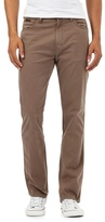 Wrangler Brown Textured Line Trousers