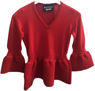Moschino Cheap & Chic Moschino Cheap And Chic Red Wool Knitwear for Women
