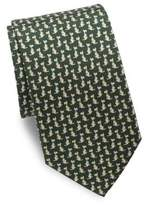 Salvatore Ferragamo Scotty Dog Silk Tie