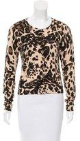 Diane von Furstenberg Ibiza Leopard Printed Cardigan