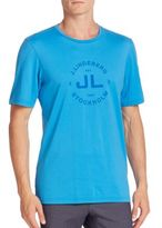 J. Lindeberg Short Sleeve Graphic T-Shirt