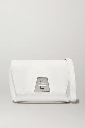 Akris Anouk Textured-leather Shoulder Bag - White