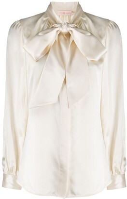 Tory Burch Pussy Bow Blouse