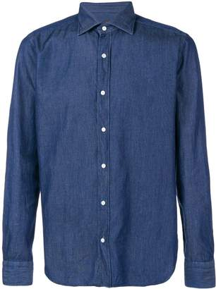 Piombo MP Massimo denim button down shirt