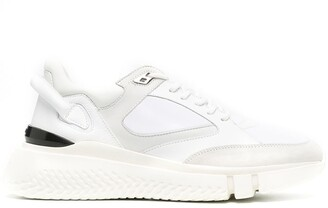 Buscemi Panelled Leather Sneakers