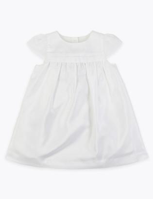 Marks and Spencer Taffeta Occasion Dress (0-3 Yrs)