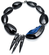 Alexis Bittar Short Spike Liquid Pebble Necklace