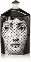 Fornasetti Burlesque Scented Candle, 300g - White