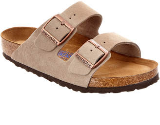 Birkenstock Women's Arizona Soft Footbed Suede Leather Sandal