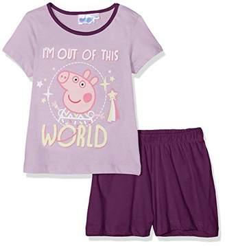 Peppa Pig Girl's Pyjama Sets, (Purple Lilas), (Size:)