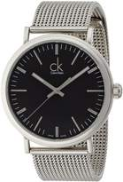 Calvin Klein Men's K3W21121 Surround Analog Display Swiss Quartz Silver Watch