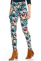 Westbound the PARK AVE fit Printed Pull-On Legging