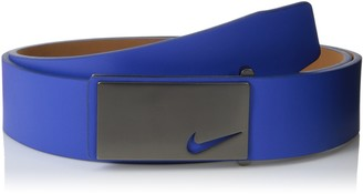 Nike Men's Sleek Modern Plaque Belt