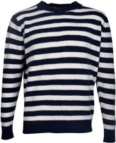 The Elder Statesman Inch Stripe Sweater
