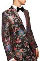 Topman Classic Fit Floral Print Suit Jacket