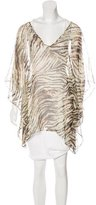 Vix Paula Hermanny Sheer Silk Blouse w/ Tags