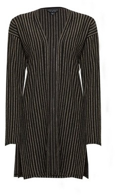 Dorothy Perkins Womens Black Striped Cardigan, Black
