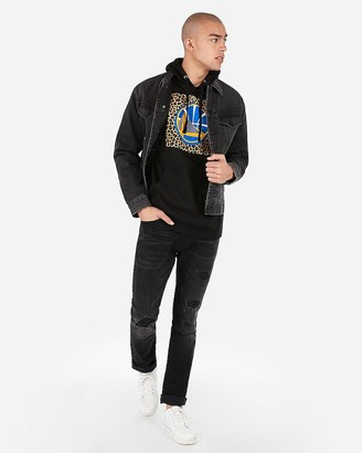 Express Golden State Warriors Nba Fleece Hoodie