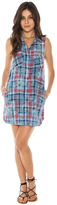 Bella Dahl Melbourne Plaid Shirt Dress