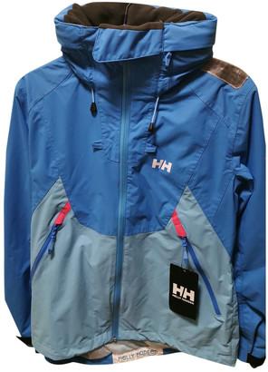 Helly Hansen Blue Polyester Coats