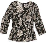 Isabel Marant Floral Print Silk Top