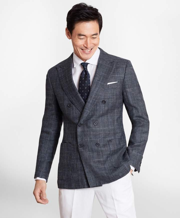 aa634fb7 Regent Fit Wool Blend Double-Breasted Sport Coat