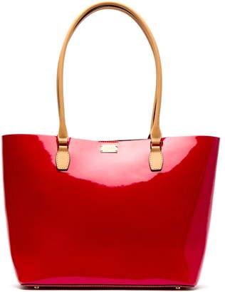 Frances Valentine Medium Trixie Patent Leather Tote