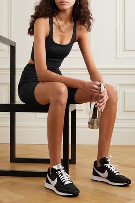 Girlfriend Collective + Net Sustain Paloma Recycled Stretch Sports Bra - Black